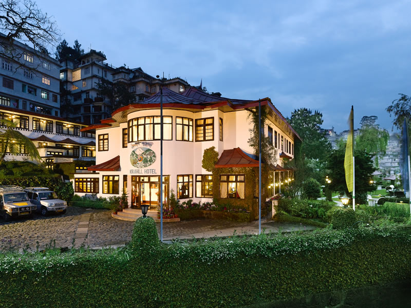 Luxury Elgin Heritage hotel in the heart of Gangtok town