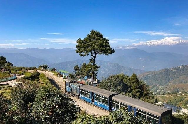 6 places to visit in Darjeeling, Darjeeling Himalayan Railway near The Elgin Hotels & Resorts
