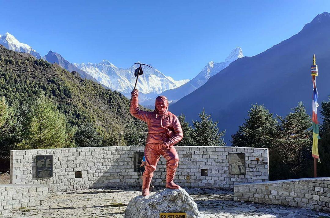 Tenzing Norgay Statute in Darjeeling